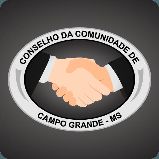 Logomarca CCCGMS - Conselho da Comunidade de Campo Grande MS